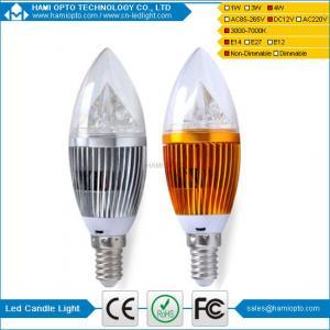 China Solar LED Candle Light DC12V for hotel wholesale