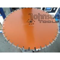 Quality 650mm Diamond Wall Saw Blades with Long Lifetime , Diamond Cutting Tools for sale