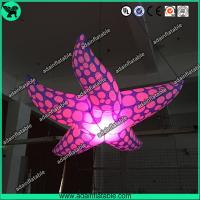 China New Brand Event Decoration Lighting Blue Inflatable Starfish/Ocean Event Decoration wholesale