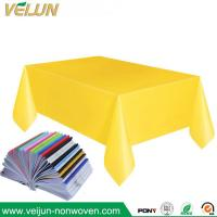 Buy cheap PP/TNT Non-woven Tablecloth disposable tablecloth for restaurant and hotel from wholesalers