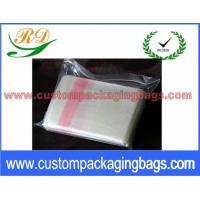 China Red and Natural Custom Plastic Laundry Bags for Hotel / Hospital 25 Micron on sale