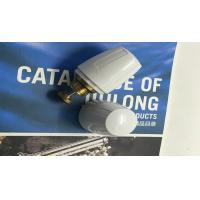 China OEM White Color Brass Water Fittings Water Adjuster Cap Plastic wholesale