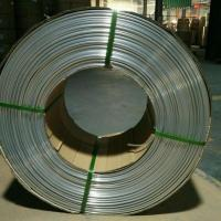 China Heat Exchange Aluminum Coil Tubing / Conform Thin Wall Extruded Aluminum Tubing wholesale