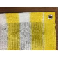 China 0.9x25m Sun Shade Net Insect Window Net Customized Yellow And White wholesale