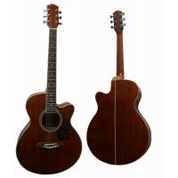 China Handmade 40 Inch Vintage Steel String Acoustic Guitar With Whole Sapele Body AF40C-S wholesale