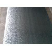 China Weather Resistant Hot Dip Galvanized Steel Sheet 50 - 180g Zinc Coating wholesale