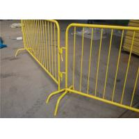 Buy cheap galvanized or pvc coated customized metal concert outdoor events satety crowd from wholesalers