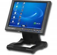 China Projected Touch Screen Computer Monitor , USB Touch Screen Industrial Monitor on sale