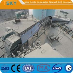 China 120mm Corrugated Sidewall B800 Rubber Belt Conveyor wholesale
