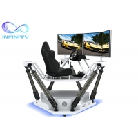 Buy cheap Theme Park Competition 9D 3D Full View Vr Car Driving Simulator from wholesalers