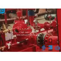 1500GPM@81m Horizontal Split Case Double Suction Centrifugal Pump With Single Stage