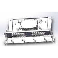 China 48 Cores Ftth Fiber Optic Terminal Box With SC Adapters , Fiber Optic Junction Box wholesale