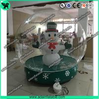 China Transparent Inflatable Show Ball,Inflatable Snow Ball,Christmas Decoration Inflatable wholesale