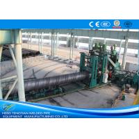 China Large Diameter Spiral Weld Pipe Machine High Performance For Gas Delivery wholesale