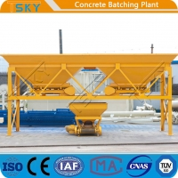 China PLD2400 Aggregate Weighing Batcher Machine 4 Weighing Hopper High Capacity wholesale