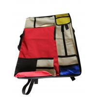 Buy cheap 4K hand-held double-sided drawer bag stitching red and yellow blue multi-functional painting bag from wholesalers