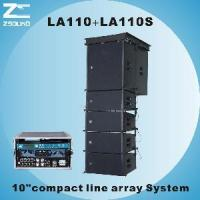 """Buy cheap LA110, 10"""" Compact Powerful Line Array System from wholesalers"""