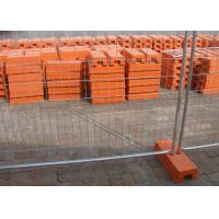 Buy cheap Hot Galvanized Portable Australian Temporary Fencing 32MM Pipe from wholesalers