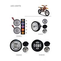 Modification Led Motorcycle Headlamps ABS Plastic Material General Purpose