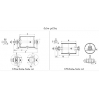 drive pully drawing