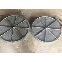 China Stainless Steel Mesh / Wire Mesh Demister Light Weight Easy Maintenance wholesale