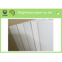 China Customized C1s White Ivory Ivory Board Paper For Printing Box / Fbb Board wholesale