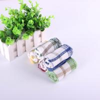 China Colorful Household Cotton Dish Towels With Yarn Dyed Checked Design 30*30cm wholesale