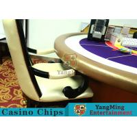 China Comfortable Casino Gaming Chairs / Solid Wood Chair Internal High - Density Sponge wholesale