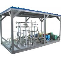 China High Pressure Pump LNG Skid Mounted Equipment 20-70mpa 1000L/h wholesale