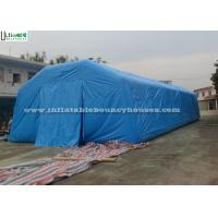 China Blue Inflatable Structures Giant Air Inflatable Tents For Opening Cenemonies wholesale