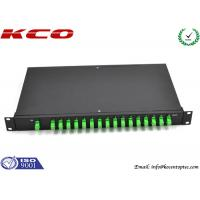 China Fiber Optic Rack Mount PLC Splitter wholesale