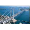 China Simple Structure Steel Cable Suspension Bridge for Longest Spans River wholesale