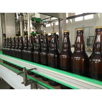 China High Precision 40 HEADS 3 In 1 Carbonated Drink Filling Machine With Crown Cap wholesale