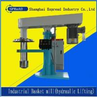 China hydraulic lifting industrial  basket mill for paint color on sale