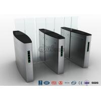 Quality Building Access Control Waist Height Turnstiles Automatic With Polishing Surface for sale