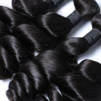 Real Remy 8A Malaysian Hair Extensions Natural Black For Women Curly Hair