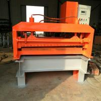 PLC Control Steel Straightening Machine , 13 Rollers Plate Leveling Machine