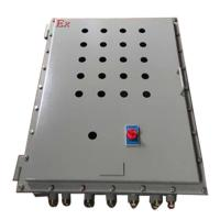 China Stainless Steel Explosion Proof Enclosure For Explosion Proof Control Panel 300*400*150mm on sale