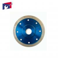 China Smooth Diamond Saw Blades , Cutting And Grinding Ceramic Tile Saw Blades wholesale