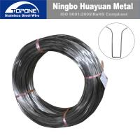 China Industrial Stainless Steel Spring Wire For Bra / Bra Wire Anti Corrosion wholesale
