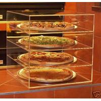 China Acrylic Bakery Display Case , 4-Tier Plexiglass Pizza Display Stand wholesale