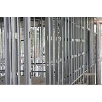 China Anti Corrosion Steel Stud Partition , Gypsum Board Channel Good Rust Resistance wholesale