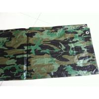 China waterproof flame retardant camo tarps  for hunting ground and military tent wholesale