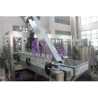 40 Heads Bottle Filling Machine For Glass Bottle Negative Pressure