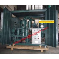 China Old transformer oil regeneration system , Insulation Oil Recycling,Oil Filtration Plant wholesale