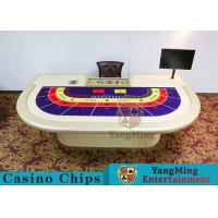 China Entertainment Casino Poker Table For 9 Players 2600*1470*800mm wholesale