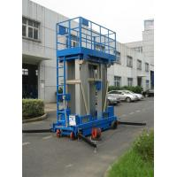 China Stable Performance Aerial Lift Platform , 6 Meter Four Mast Hydraulic Cargo Lift wholesale
