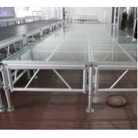 Buy cheap 6082 Aluminum Movable Stage Platform 18mm Thinkness Anti Slip And Fireproof Plywood For event on water from wholesalers