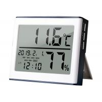 China 1.5V Digital Thermometer Hygrometer / Temperature Humidity Gauge CE Approval wholesale