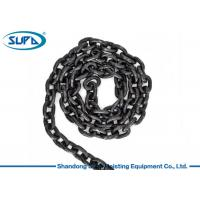China Black Alloy Steel Lifting Accessories For Cranes Grade 80 Lifting Chain wholesale
